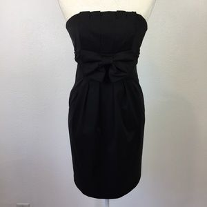 Jessica McClintock Strapless Cocktail Dress 6